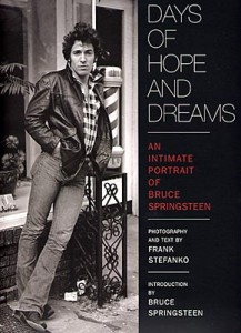 Days of Hope and Dreams, Bruce Springsteen