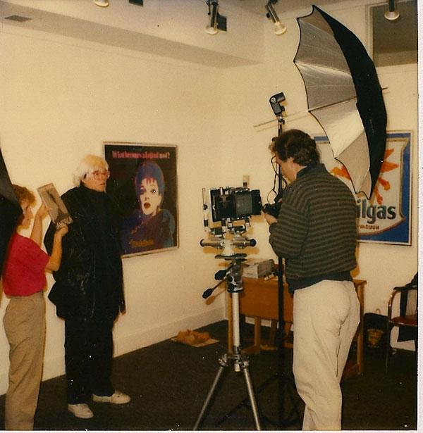 Andy Warhol at Govinda