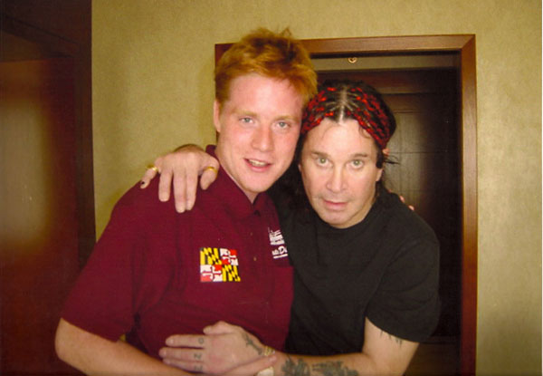 David Murray and Ozzy Osbourne