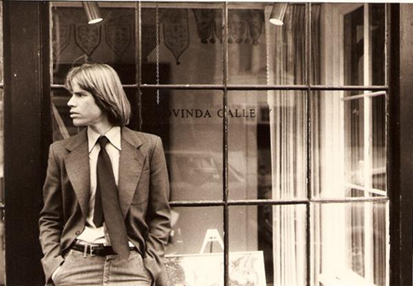 Chris Murray outside Govinda Gallery in Georgetown