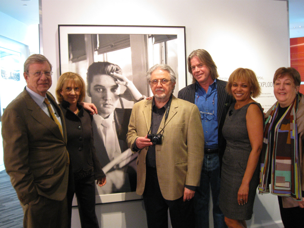 Alfred Wertheimer and friends at the Grammy Museum