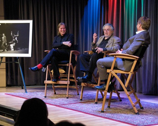 Chris Murray, Alfred Wertheimer, and Bob Santelli