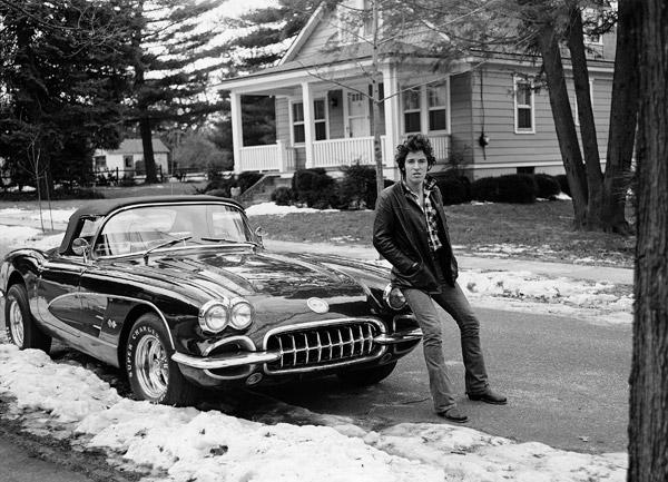 """Bruce Springsteen, """"Corvette Winter"""" © Frank Stefanko"""