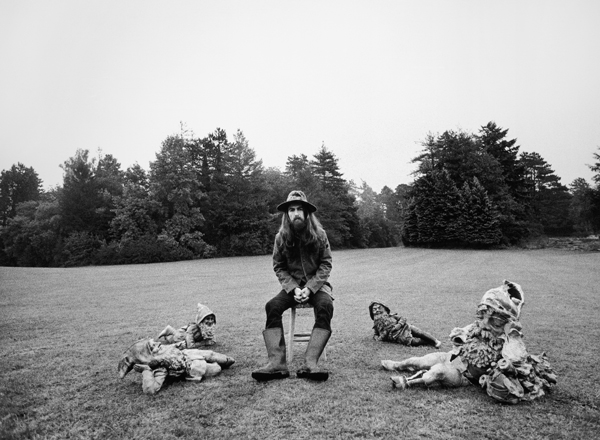 George Harrison All Things Must Pass Friar Park 1970 Copyright C Barry Feinstein Rights Reserved