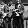 Buddy Guy and Eric Clapton
