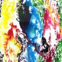 Fresh 9 acrylic on canvas 4x6