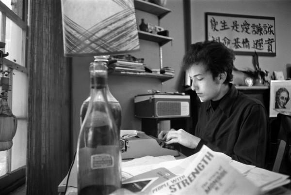 Resultado de imagen para bob dylan typewriter