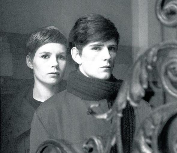 Kirchherr and Stuart Sutcliffe © Astrid Kirchherr