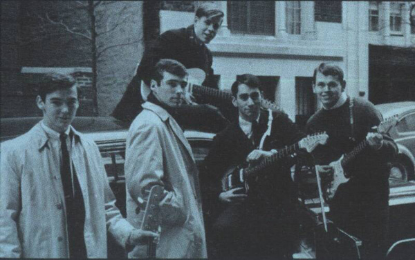 The Malibooz on E. 83rd St., NYC before a gig circa 1964. ©  The Malibooz.