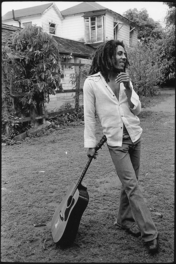 Bob Marley, Soul Rebel, Hope Road, 1976. ©  David Burnett.