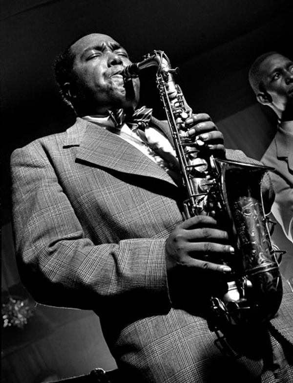Charlie Parker, New York 1949.