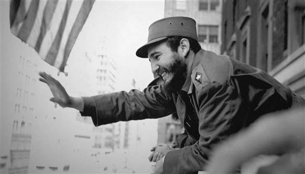 Fidel Castro, New York, 1959. ©  Osvaldo Salas.