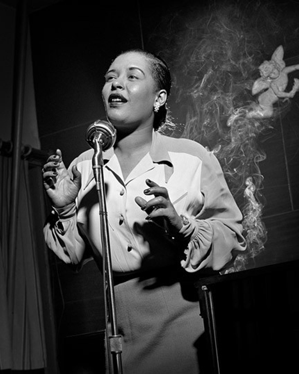 Billie Holiday. © Herman Leonard.