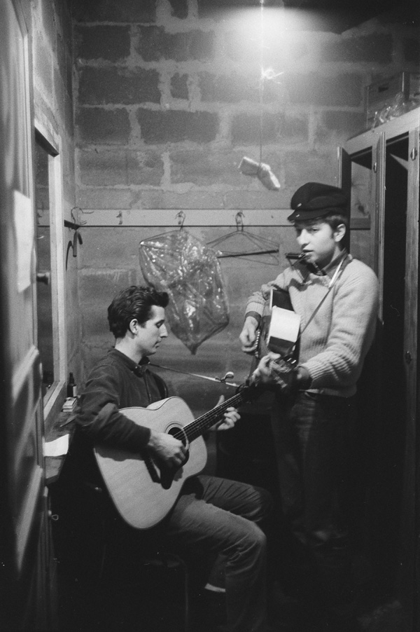 Bob Dylan and Mark Spoelstra