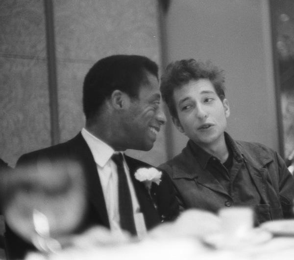 James Baldwin and Bob Dylan at the
