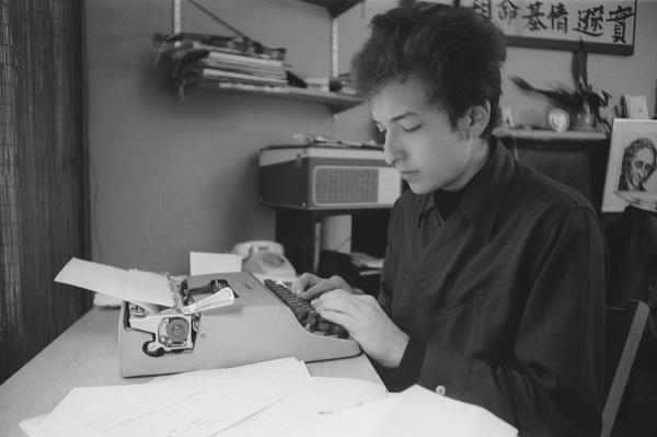 Bob Dylan writing