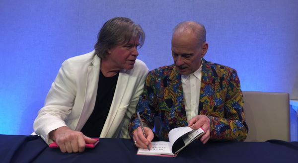 Chris Murray and John Waters