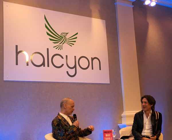 John Waters at Halcyon Stage