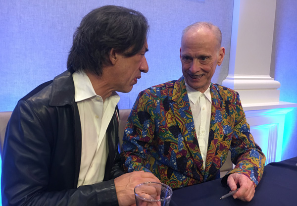 Septime Webre and John Waters
