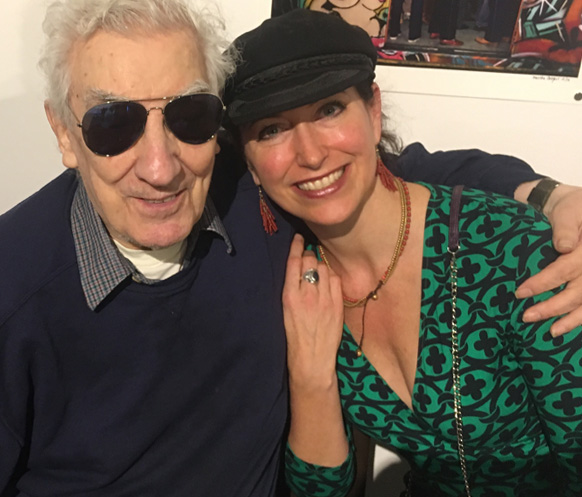 Ted Russell and Carlotta Hester.