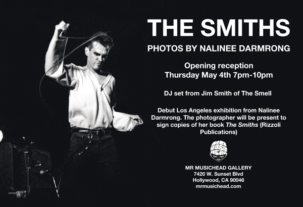 The Smiths Invitation