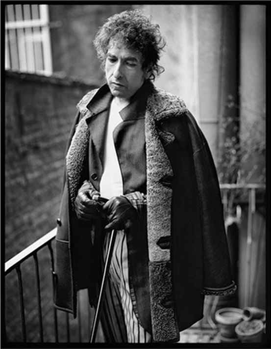 Bob Dylan, New Orleans. Photograph by Mark Seliger.