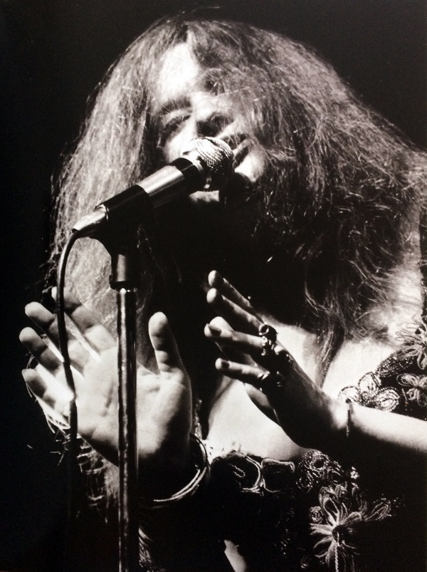 Janis Joplin, Newport Folk Festival, 1968. Copyright Dick Waterman.